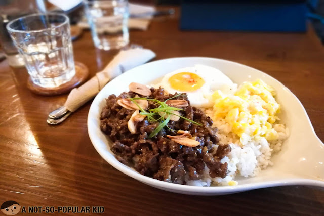 Garlic Beef Tapa of Luna Cafe