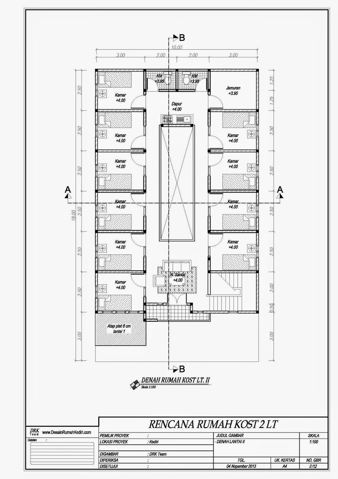 100 Gambar Rumah Kost Minimalis 2 Lantai Gambar Desain Rumah Minimalis