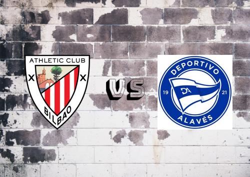 Athletic Club vs Deportivo Alavés  Resumen
