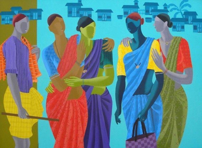 Индийский художник. Abhiram Bairu