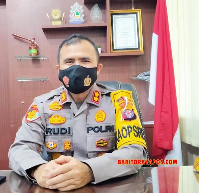 Jelang Libur, Kapolres Gumas Imbau Masyarakat tetap Patuhi Prokes