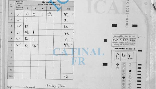 ca final Financial Reporting certified copies