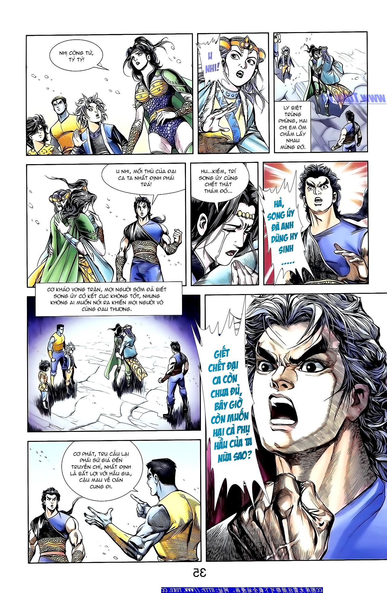 Cơ Phát Khai Chu Bản chapter 150 trang 4