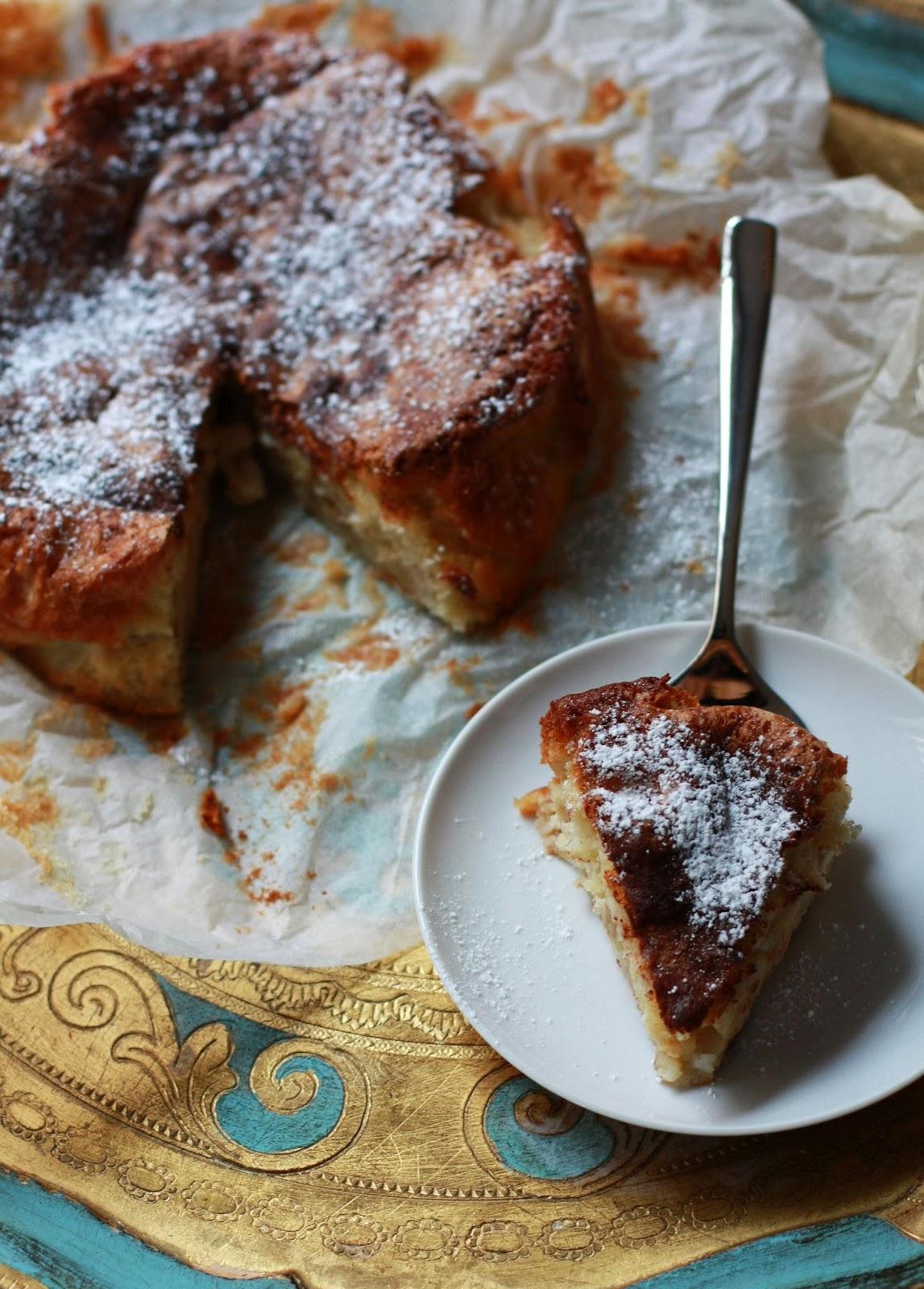 italialainen omenakakku omena kakku italia leivonta resepti mallaspulla