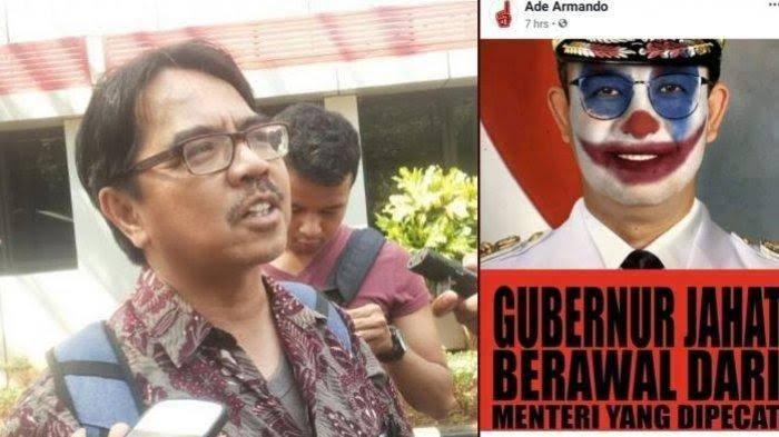 Ade Armando Akan Dilaporkan Polisi, Sebut Ormas Islam Bgst
