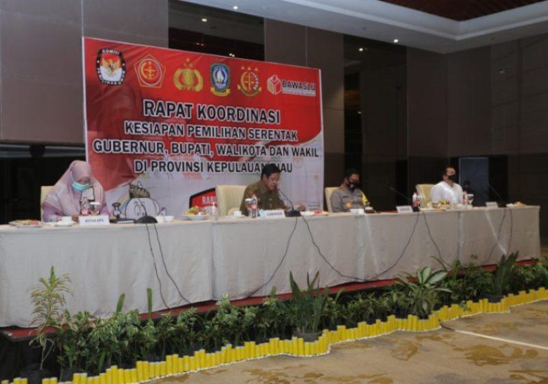 Jelang Pilkada, Isdianto Lakukan Koordinasi Intensif dan Penguatan Pengamanan