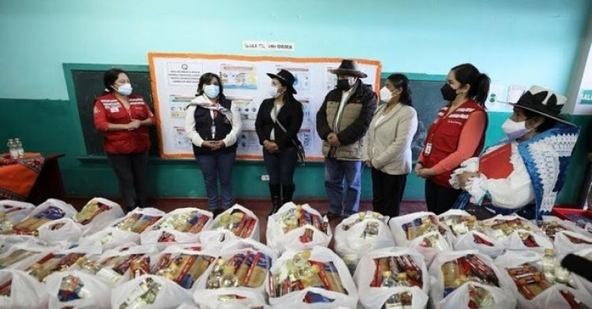 QALI WARMA: Ministra Dina Boluarte supervisó entrega de alimentos para escolares del distrito de Antabamba - Apurímac - www.qaliwarma.gob.pe