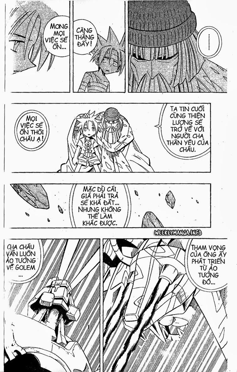 Shaman King [Vua pháp thuật] chap 206 trang 8