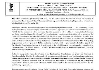 IBPS Recruitment 2019
