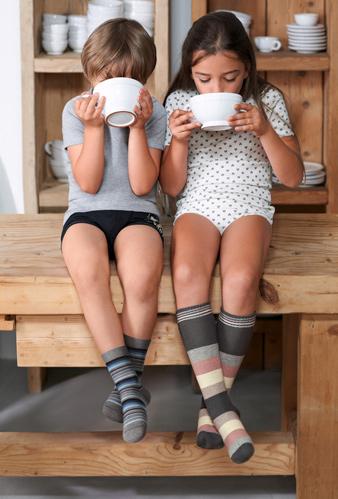 calcetines rayas niños
