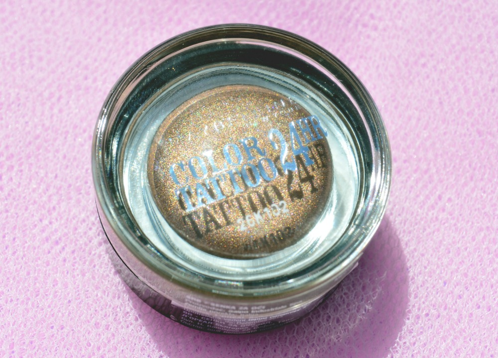 Image of the Color Tattoo glass jar packaging
