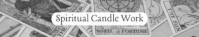 Candle Work Services Available for Booking Now Open