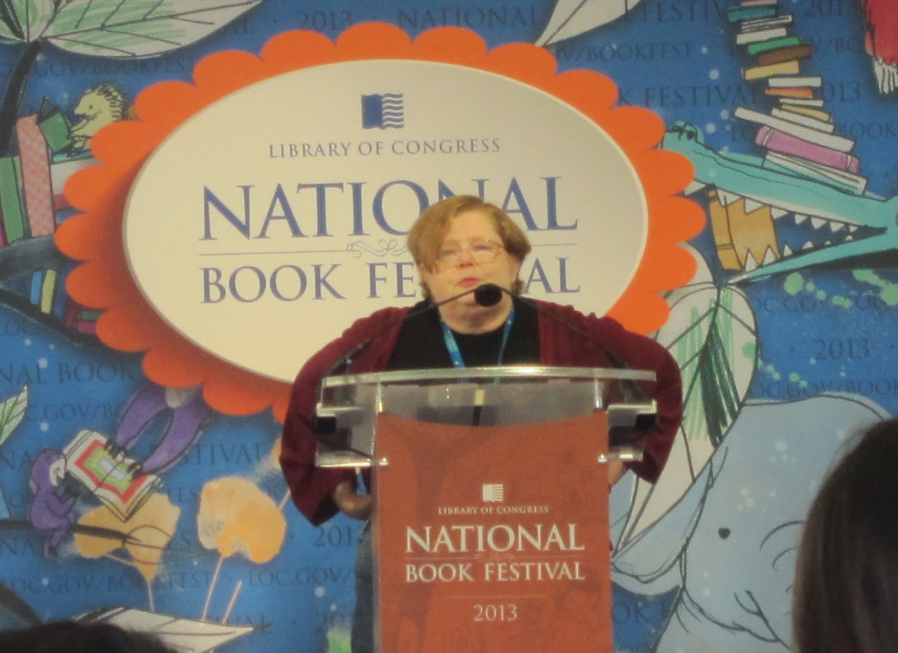 Tamora Pierce at the National Book Festival