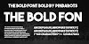 [Download] The Bold Font