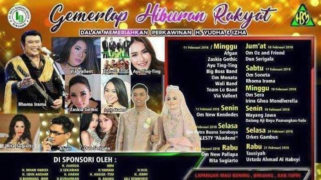 Pesta Pernikahan 10 Hari 10 Malam di Binuang Kalimantan Selatan Ini Menjadi Viral Warganet