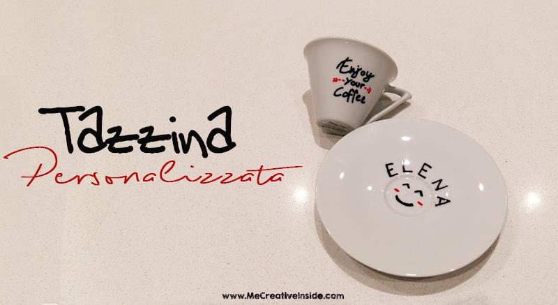 Tazzina personalizzata porcelainpainter porcelain painter ME creativeinside