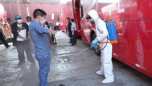 Indeci inicia traslado de personas al interior del país por emergencia nacional de Covid-19