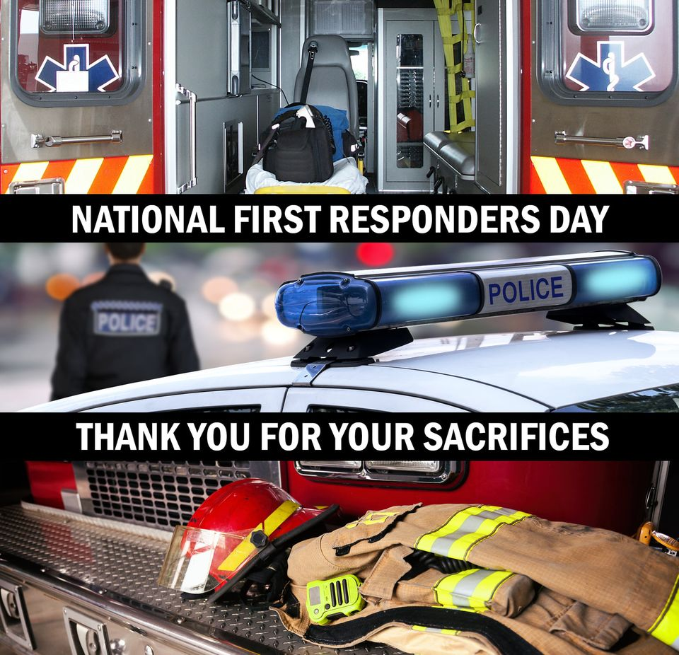 National First Responders Day Wishes Beautiful Image