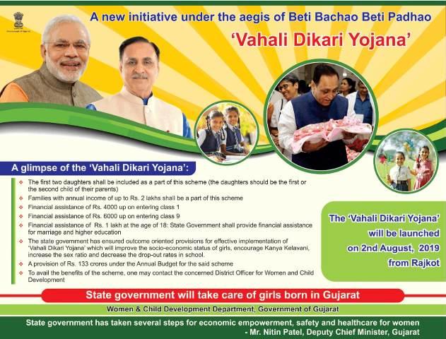 Vahali Dikri Yojana Form: Eligibility, Benefits