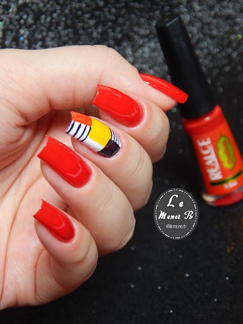 nail art geometrica