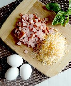 savory ham and cheese dutch baby