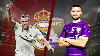 بث مباشر مباراة ريال مدريد والعين اليوم 22/12/2018 كأس العالم للاندية Real Madrid vs Al Ain live