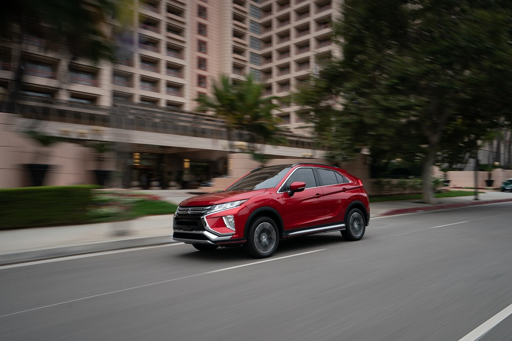 2019 Mitsubishi Eclipse Cross earns Top Safety Pick rating
