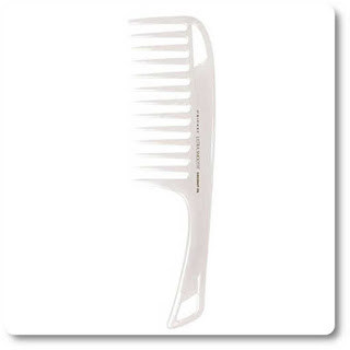 Ultra Smooth Coconut Detangler Comb by Cricket