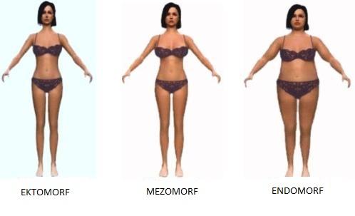 mezomorf női étrend)