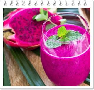 Resep jus buah naga untuk diet sehat