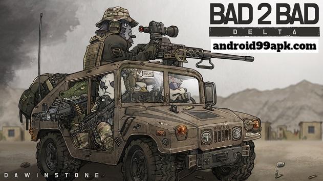 لعبة BAD 2 BAD: DELTA v1.5.0 مهكرة للأندرويد