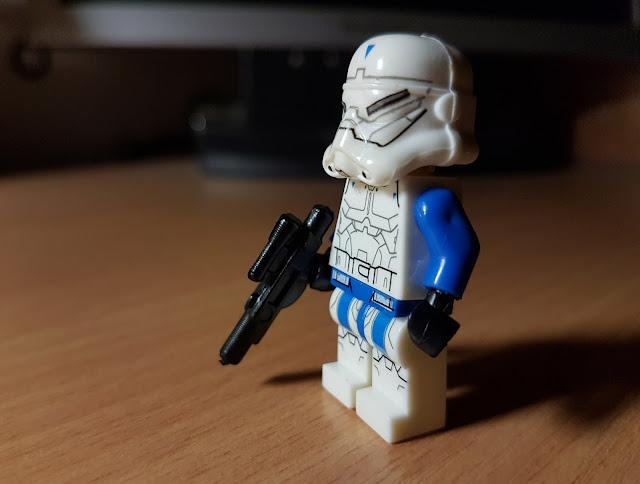 Солдат клон коммандос, спецназ, клон-спецназовец фигурка лего, Стар Варс, Звездные войны, Star Wars