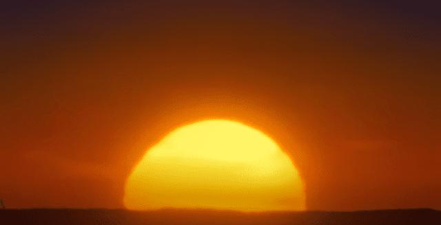 انفجار هائل من الرياح الشمسية