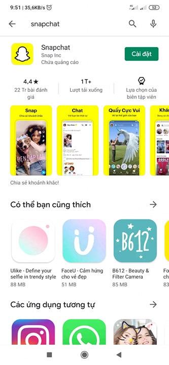SnapChat là gì? Tải SnapChat cho điện thoại Android miễn phí d