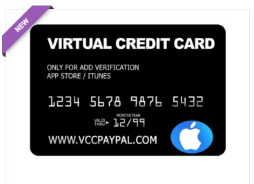 Jual VCC Itunes App Store (Verifikasi Only)