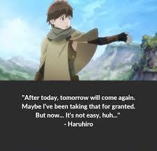 Haruhiro Quotes
