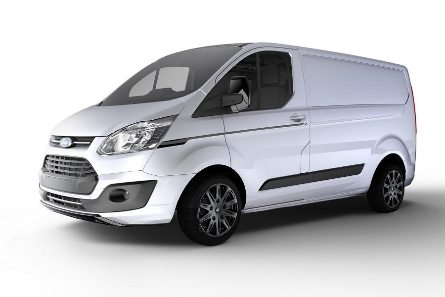 ford transit custom black edition launched autoesque. Black Bedroom Furniture Sets. Home Design Ideas