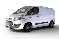 Ford Transit Custom Black Edition (2017) Front Side 3