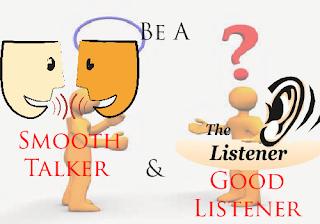 menjadi lawan bicara yang baik dan menyenangkan