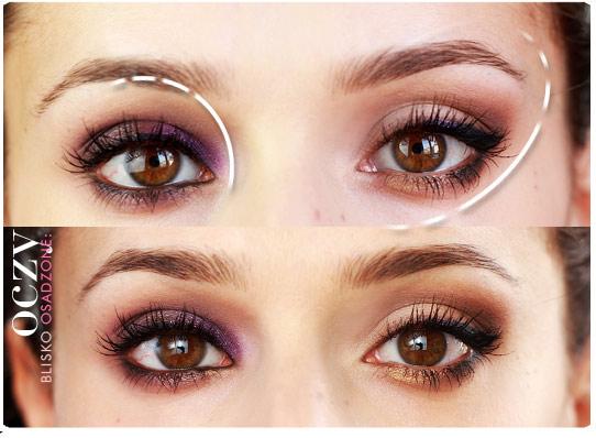Alina Rose Blog Kosmetyczny Oczy Blisko Osadzone Makijaż Zasady