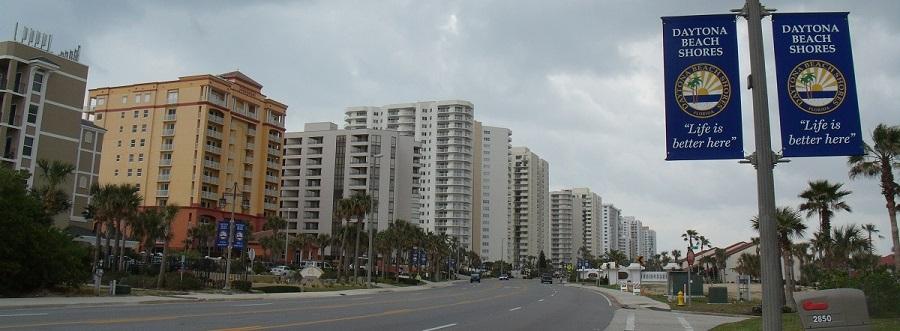 Edificios en Daytona Beach Shores