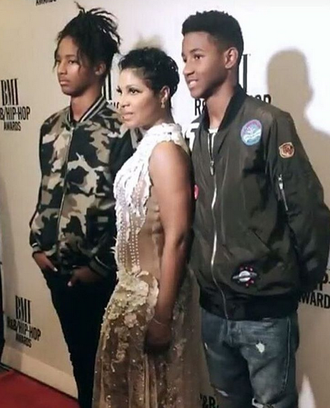 Toni Braxton's Sons Have Grown Into Handsome Young Men