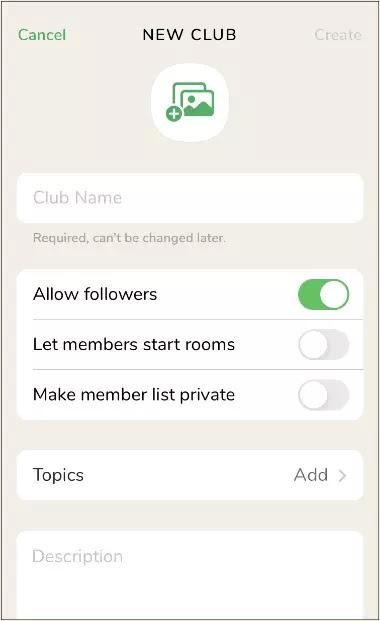 Cara Membuat Club di Clubhouse-3