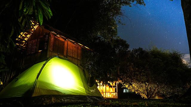 Camping trip in Janda Baik