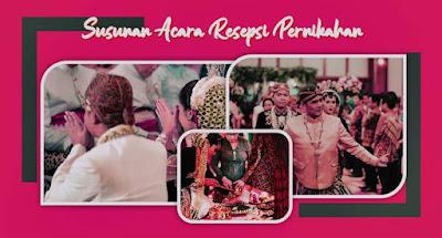 susunan acara resepsi pernikahan