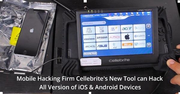 يمكن لأداة Premium Hacking Firm Cellebrite الجديدة من اختراق البيانات واستخراجها من جميع أجهزة iOS وأجهزة Android المتطورة