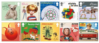 Classic Toys Stamp Collection