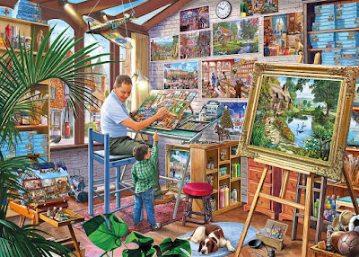 Gibsons Work of Art Jigsaw Puzzle