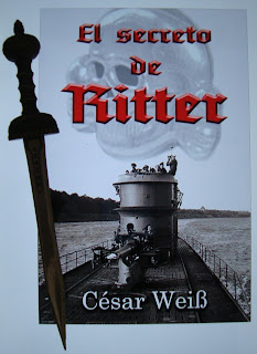 Portada del libro El secreto de Ritter, de César Weiss