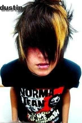 male emo hairstyles